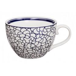 Le Bleu de Nîmes – Tasse à café – avec anse – 310ml – porcelaine – TOKYO DESIGN STUDIO