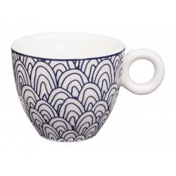 Le Bleu de Nîmes – Tasse à expresso – avec anse – 75ml – porcelaine – TOKYO DESIGN STUDIO