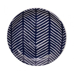 Le Bleu de Nîmes – Sous-tasse expresso – 120mm – porcelaine – TOKYO DESIGN STUDIO