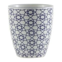 Nippon Blue – Mug à thé – sans anse – 200ml – porcelaine – TOKYO DESIGN STUDIO