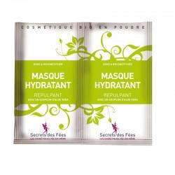 Masque hydratant – repulpant – aloe vera – 2 doses – bio, slow cosmétique – SECRETS DES FÉES