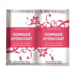 Gommage hydratant – éclat du teint – fraisier – 2 doses – bio, slow cosmétique – SECRETS DES FÉES