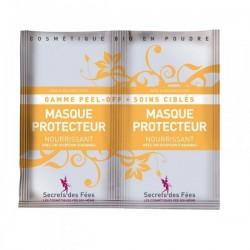 Masque protecteur nourrissant – ananas – gamme peel-off, soins ciblés – 2 doses – bio, slow cosmétique – SECRETS DES FÉES