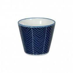 Le Bleu de Nîmes – Tasse à expresso – sans anse – 85ml – porcelaine – TOKYO DESIGN STUDIO