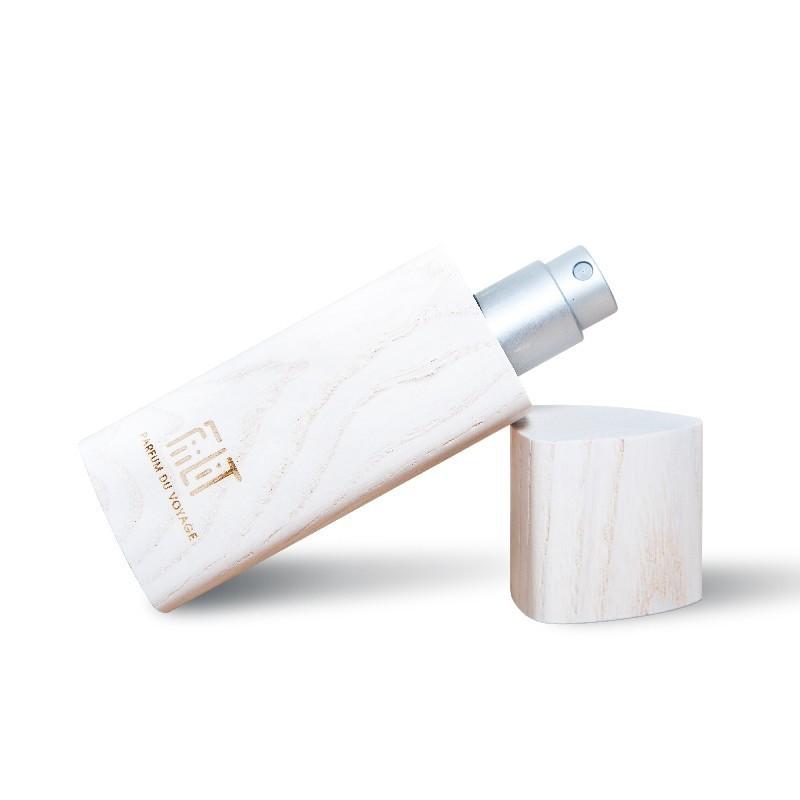Eau de parfum mixte – CYCLADES + écrin bois COQUILLAGE – 10ml – naturel, vegan, slow cosmétique – FIILIT