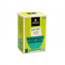 Thé vert bio Earl Grey bergamote 20 infusettes