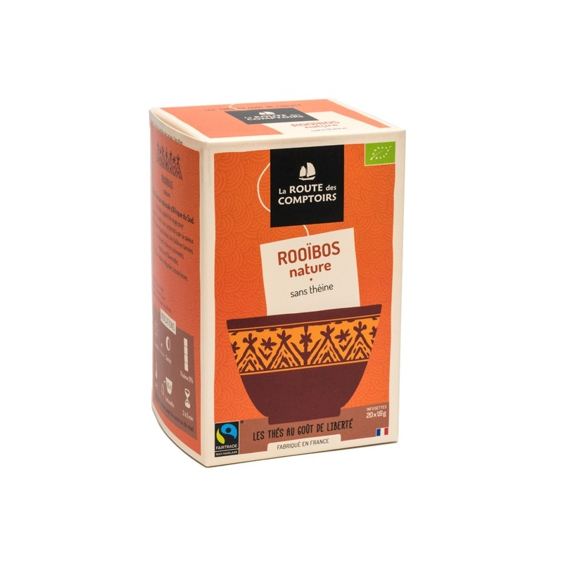 Infusion rooïbos bio Nature 20 infusettes