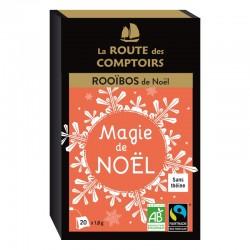 Infusion rooïbos bio Magie de Noël 20 infusettes