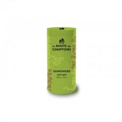 Thé vert bio Gunpowder boîte 100g