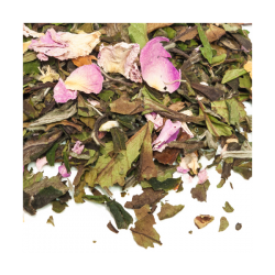 Thé blanc bio Reine de Damas boîte 50g