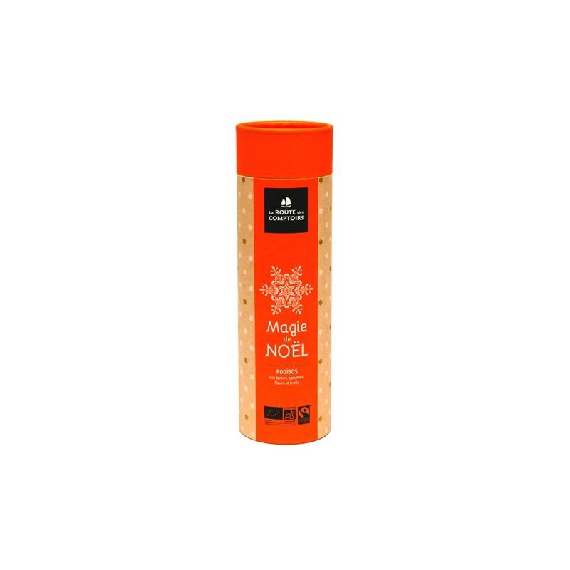 Infusion rooïbos bio Magie de Noël mini tube 40 g