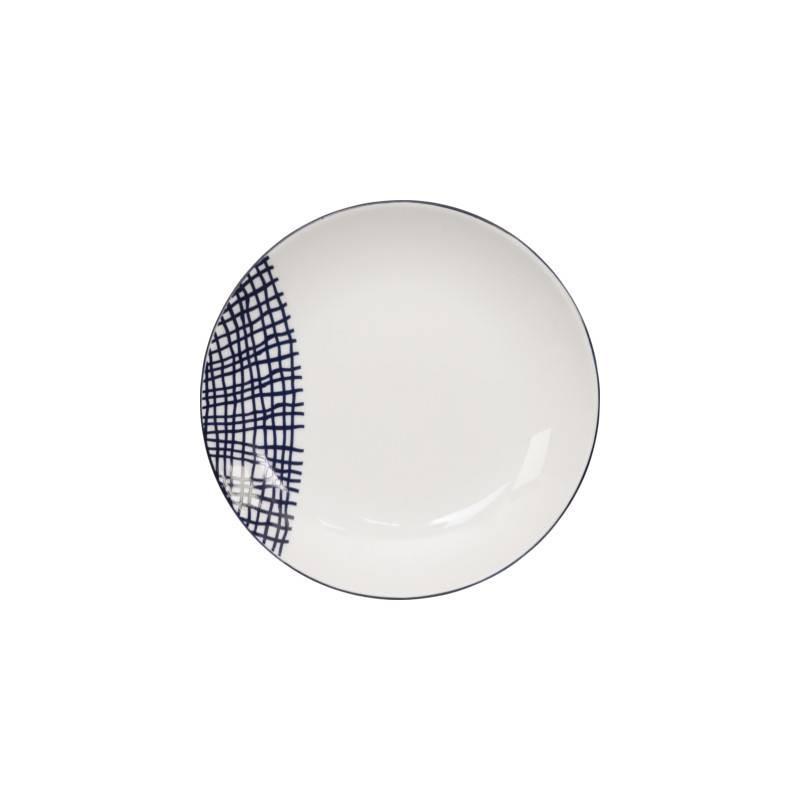 Le Bleu de Nîmes – Assiette à gâteau – 165mm – porcelaine – TOKYO DESIGN STUDIO