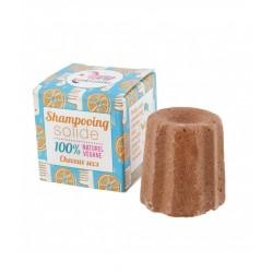 Shampoing  solide – cheveux secs – orange douce – 55g – naturel, vegan, slow cosmétique, zéro déchet – sans sulfate – LAMAZUNA