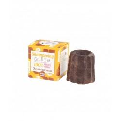 Shampoing solide – cheveux normaux – chocolat – 55g – naturel, vegan, slow cosmétique, zéro déchet – sans sulfate – LAMAZUNA
