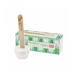 Dentifrice solide – menthe poivrée – 17g – naturel, vegan, slow cosmétique, zéro déchet – sans fluor – LAMAZUNA