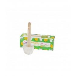 Dentifrice solide – sauge, citron – 17g – naturel, vegan, slow cosmétique, zéro déchet – sans fluor – LAMAZUNA