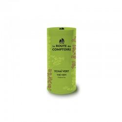 Thé vert bio Tchai vert boîte 100g