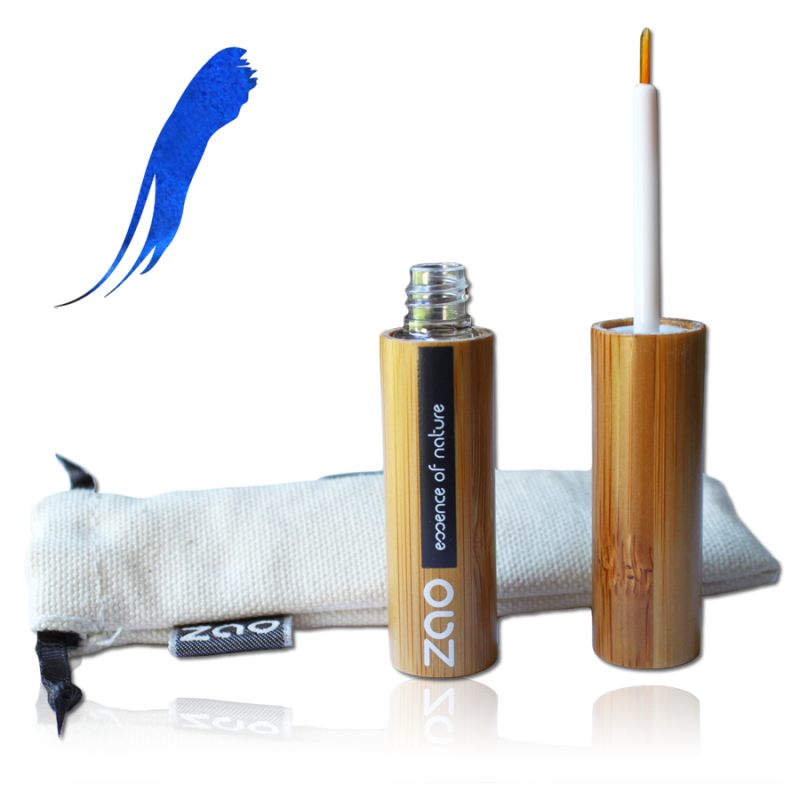 Eyeliner – 065 BLEU SAPHIR – 6ml – bio, vegan – ZAO