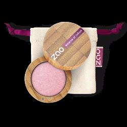 Fard à paupières nacré – 103 VIEUX ROSE – boîtier bambou rechargeable – 3g – bio, vegan – ZAO