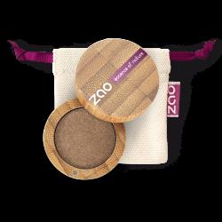 Fard à paupières nacré – 117 BRONZE ROSÉ – boîtier bambou rechargeable – 3g – bio, vegan – ZAO