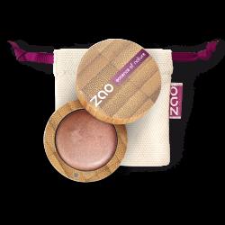 Fard à paupières crème – 251 CUIVRE – boîtier bambou rechargeable – 3g – bio, vegan – ZAO