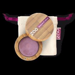Fard à paupières crème – 253 AMÉTHYSTE – boîtier bambou rechargeable – 3g – bio, vegan – ZAO