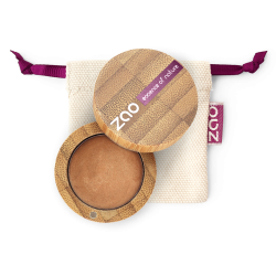 Fard à paupières crème – 254 BRONZE DORÉ – boîtier bambou rechargeable – 3g – bio, vegan – ZAO