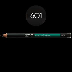 Crayon – yeux, lèvres, sourcils – 601 NOIR – 1,14g – naturel, vegan – ZAO