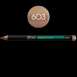 Crayon – yeux, lèvres, sourcils – 603 BEIGE NUDE – 1,14g – naturel, vegan – ZAO
