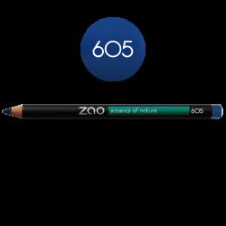 Crayon – yeux, lèvres, sourcils – 605 BLEU NUIT – 1,14g – naturel, vegan – ZAO