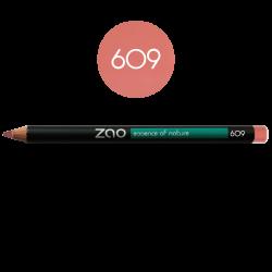 Crayon – yeux, lèvres, sourcils – 609 VIEUX ROSE – 1,14g – naturel, vegan – ZAO
