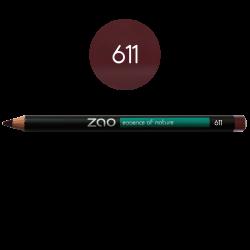Crayon – yeux, lèvres, sourcils – 611 POURPRE – 1,14g – naturel, vegan – ZAO