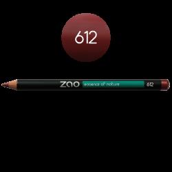 Crayon – yeux, lèvres, sourcils – 612 BORDEAUX – 1,14g – naturel, vegan – ZAO