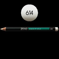 Crayon – yeux, lèvres, sourcils – 614 BLANC – 1,14g – naturel, vegan – ZAO