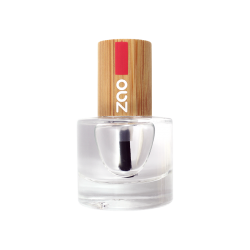 Vernis à ongles – Top coat classique – Finition + protection – 636 – 8ml – 8 free vegan – ZAO