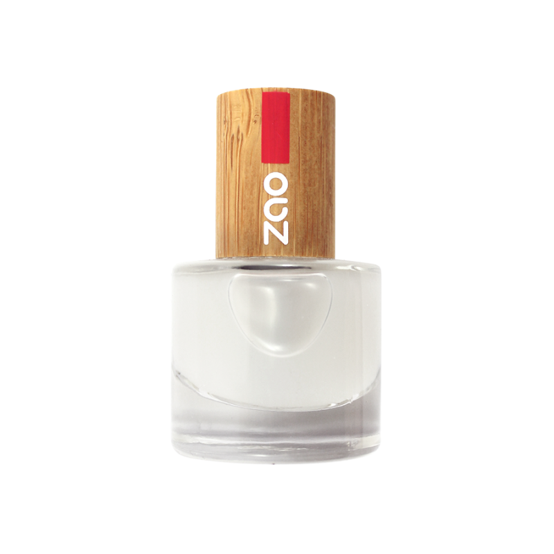 Vernis à ongles – Top coat mat –  Finition + protection – 637 – 8ml – 8 free vegan – ZAO
