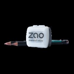 Taille crayon – maquillage – double embout – lames inox + réservoir plastique – ZAO