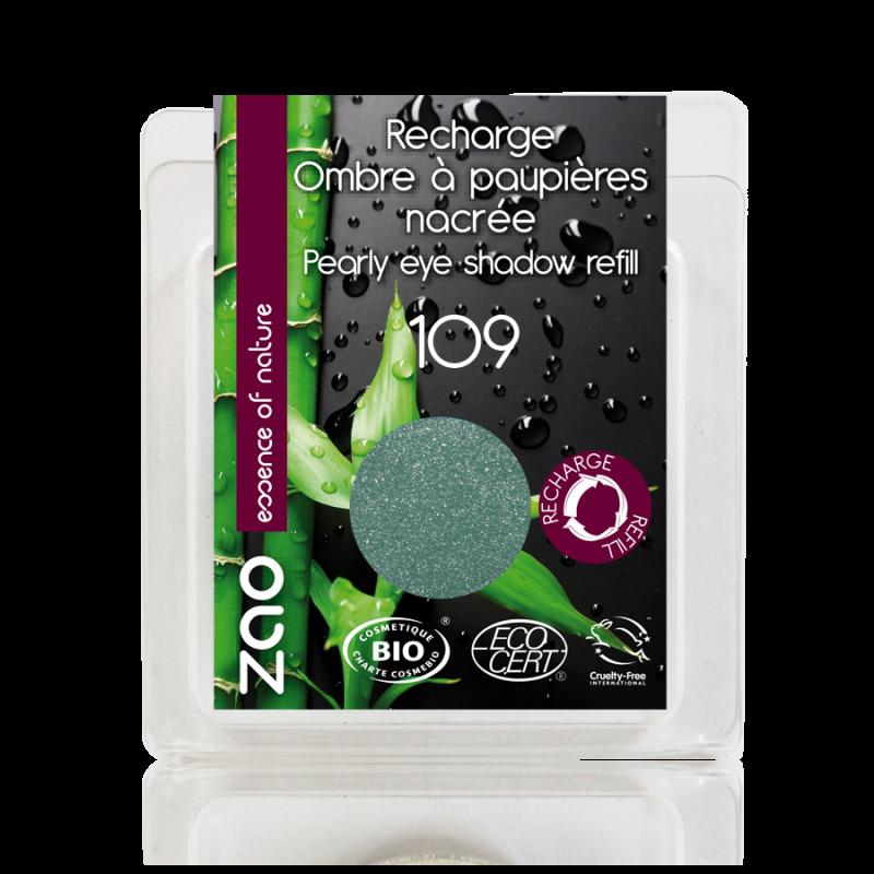 Recharge Fard à paupières nacré bio & vegan Turquoise
