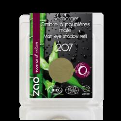 Recharge Fard à paupières mat bio & vegan Vert olive