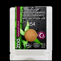 Recharge Fard à paupières crème bio & vegan Bronze doré